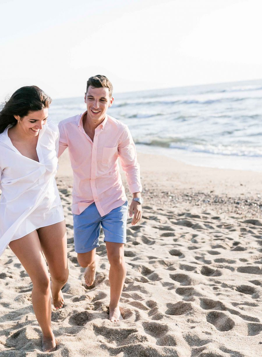 Cristina & Carlos | Paar-Shooting am Strand