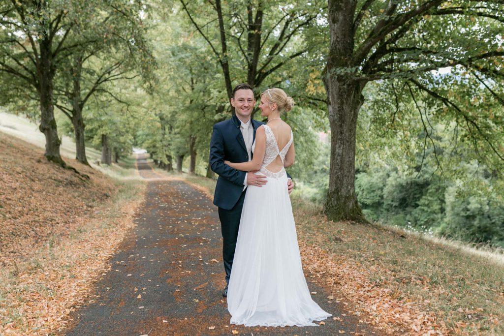 Sabrina & Yves |  Hochzeit im Landhotel Beck und Paar-Shooting in Schöntal