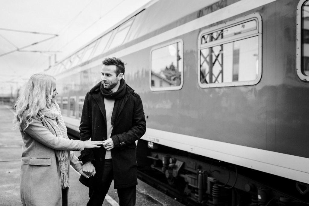 Victoria & Fabian | Urbanes Paar-Shooting in Neckarsulm